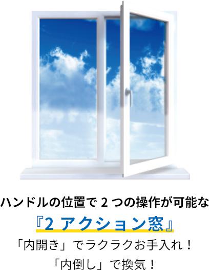 2アクション窓