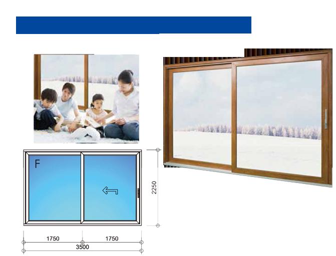 W3500mm × H2250mmサイズ