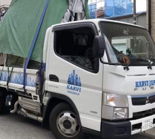 神戸市にて断熱テープを使った窓の納まりデモを実施