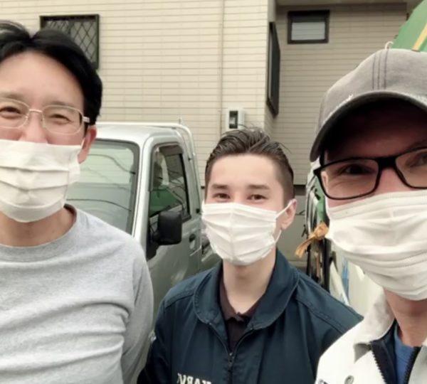浜松市にて内窓の受渡及び施工方法の説明を実施